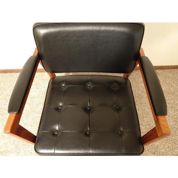 Wood Mid Century Danish Modern Svegards Markaryd Arm Chair For Sale - Image 7 of 11