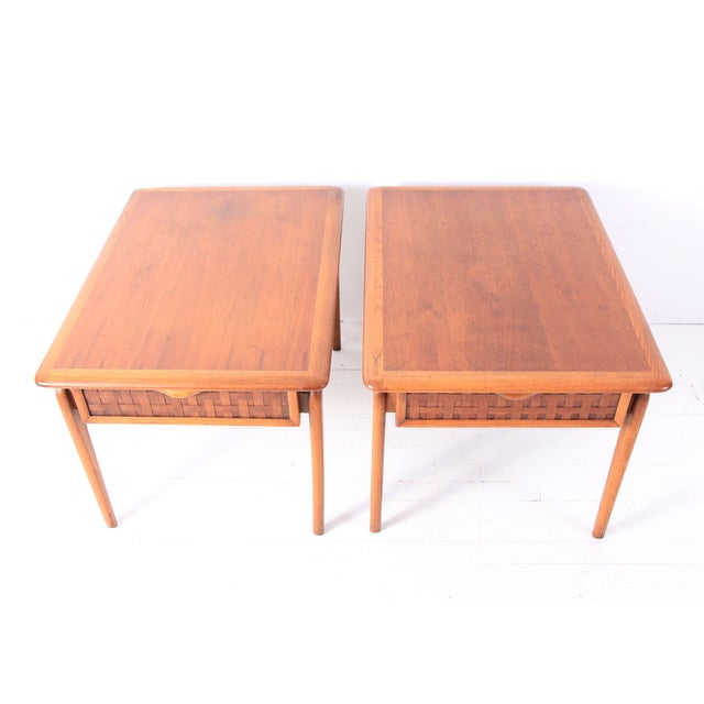 Vintage Lane Mid-Century Side Tables - a Pair - Image 2 of 10