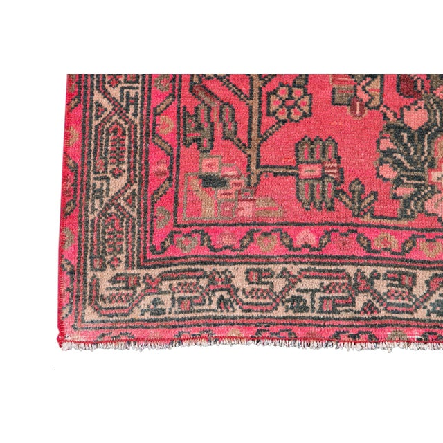 Textile Vintage Malayer Wool Runner For Sale - Image 7 of 11