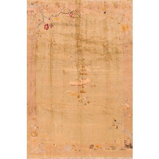 "Apadana - Antique Chinese Rug, 8'3"" X 9'10"" For Sale"
