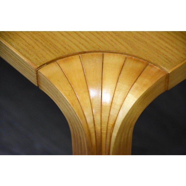 Wood Alvar Aalto Scalloped Coffee Table for Artek For Sale - Image 7 of 11
