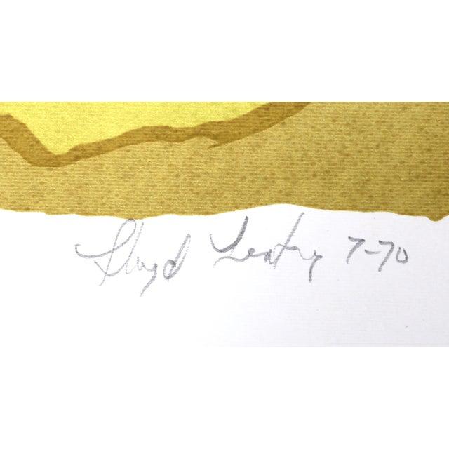 Lloyd Fertig, Untitled 6, Serigraph - Image 2 of 2