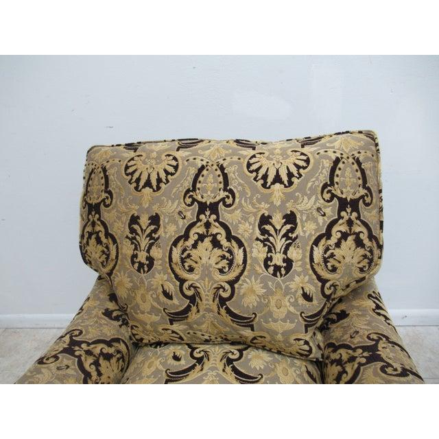 1990s Vintage Custom Tomlinson Ervin Lambeth Club Lounge Chair For Sale - Image 9 of 11