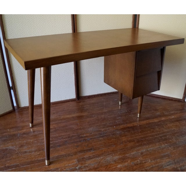 Barzilay Mid-Century California Modern Desk - Image 8 of 11