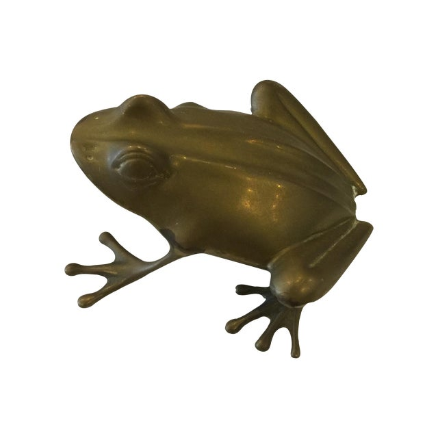 Brass Frog - Image 1 of 5