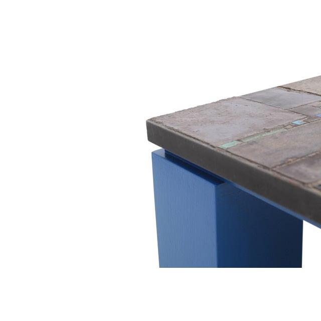 Pia Manu Pia Manu Ceramic Tile Coffee Table For Sale - Image 4 of 10