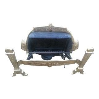 Antique 1930 Dangler Golden Glow Heater