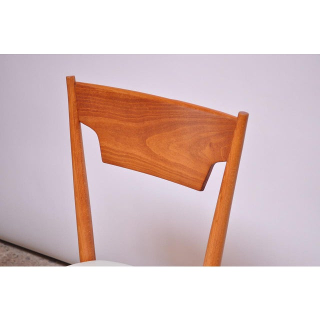 Stained Maple Dining Chairs by Paul McCobb for Perimeter - Set of 8 For Sale - Image 11 of 13
