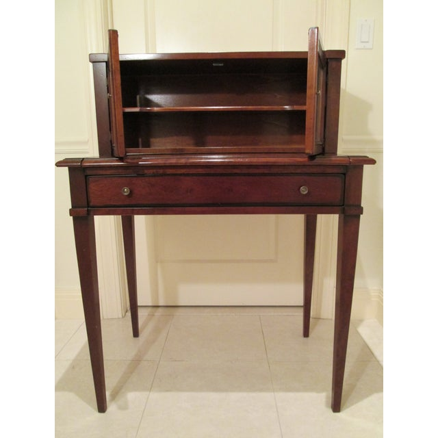 Grange Writing Desk with Curio For Sale - Image 12 of 12