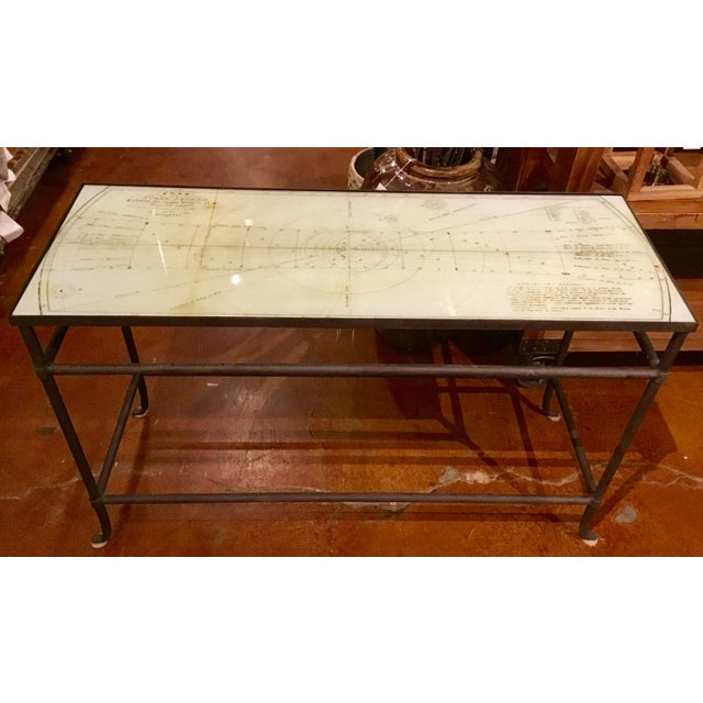 Currey & Co. Aquarius Console Table Pair Available - Image 4 of 10