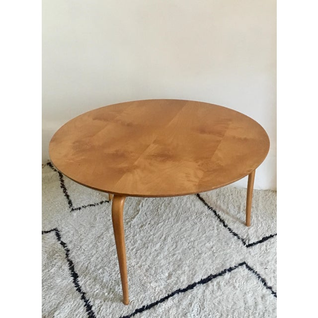 Bruno Mathsson Mid-Century Modern Annika Coffee Table - Image 4 of 7