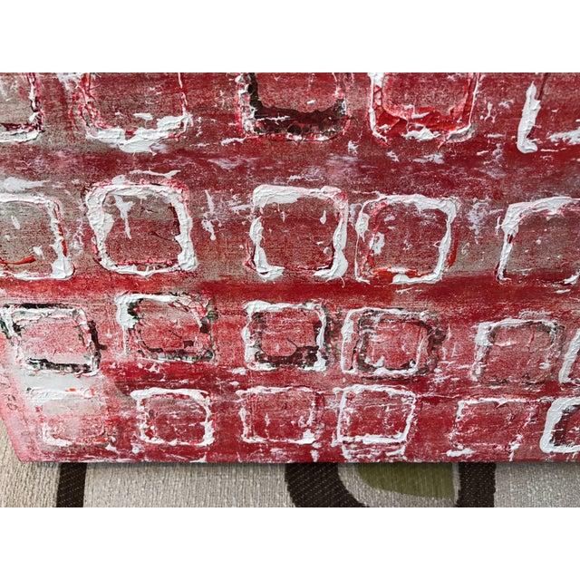 """John Szabo John Szabo """"Squares Iii"""" Acrylic Painting on Panel For Sale - Image 4 of 7"""