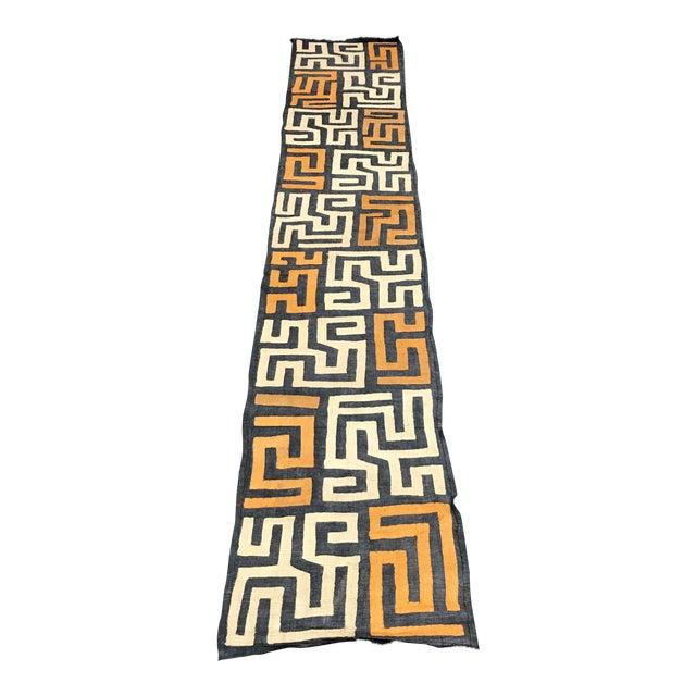 African Art Handwoven Kuba Cloth For Sale