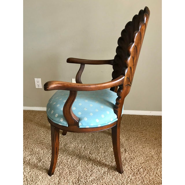 Late 20th Century Late 20th Century Italian Venetian Grotto Dining Chairs- Set of 4 For Sale - Image 5 of 10