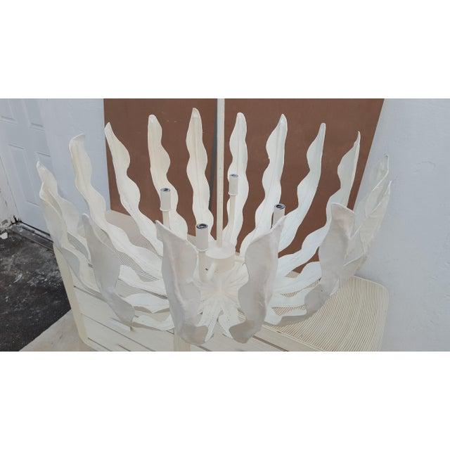 Vintage art handmade paper mache chandelier chairish vintage art handmade paper mache chandelier image 4 of 10 mozeypictures Choice Image