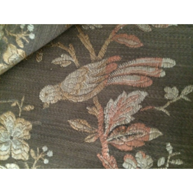 Vintage Tapestry or Table Cloth with Birds - Image 5 of 10