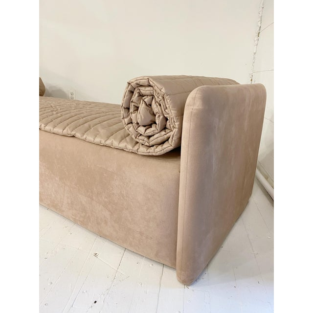 John Saladino John Saladino Blush Chaise For Sale - Image 4 of 11