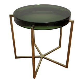 McCollin Bryan Tinted Lens Side Table For Sale