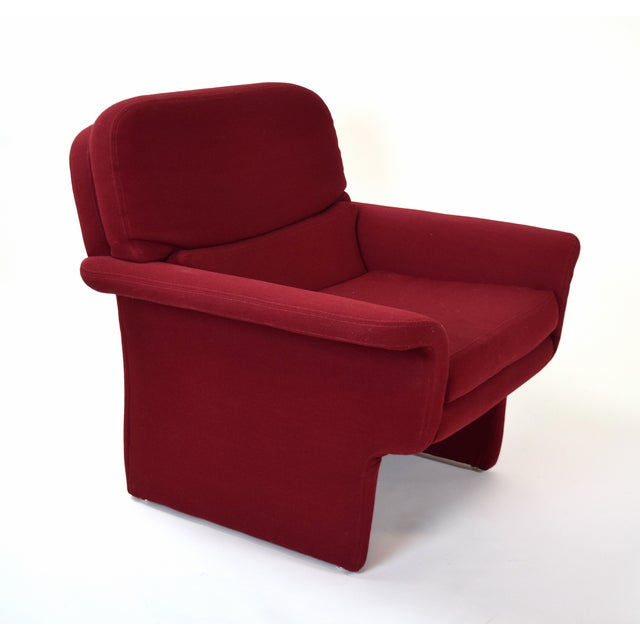Preview Mid-Century Modern Vladimir Kagan for Preview Armchair and Ottoman For Sale - Image 4 of 5