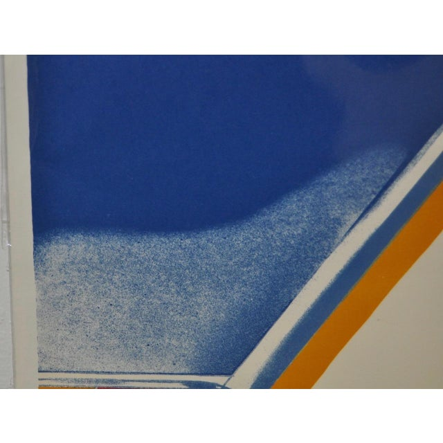 """Paper 1960s Vintage """"Roll Down"""" Color Lithograph by James Rosenquist For Sale - Image 7 of 7"""