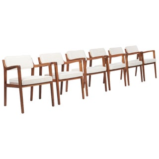Set of 6 Dining Chairs by Edward Wormley For Sale