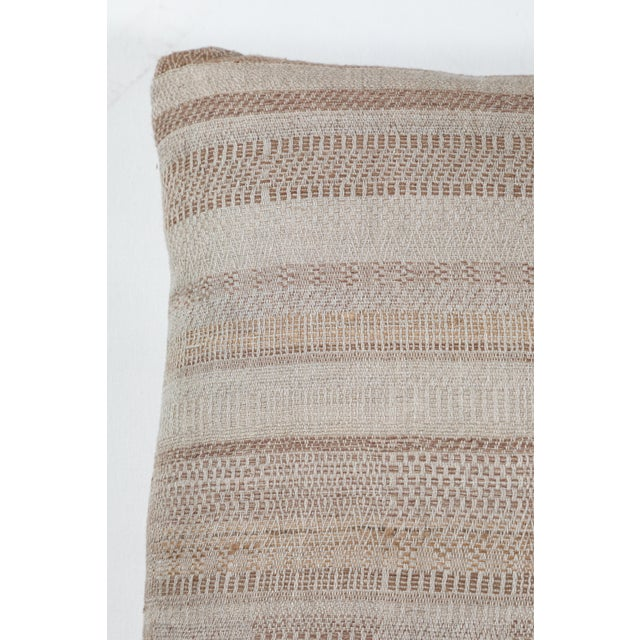 Indian Handwoven Pillow For Sale - Image 4 of 6