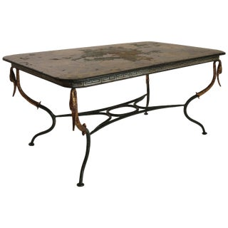 1920s French Tolle Classical Coffee Table For Sale