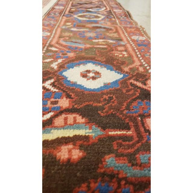 """Antique Serapi Bakhshayesh Rug-4'6x6'6"""" For Sale - Image 9 of 12"""