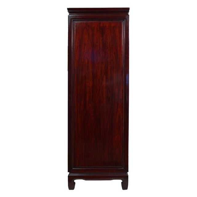 Vintage Chinese Carved Rosewood Chest of Drawers For Sale - Image 11 of 13