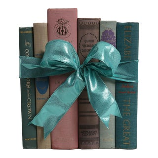Vintage Book Gift Set: Ladies of The British Isles - Set of 6