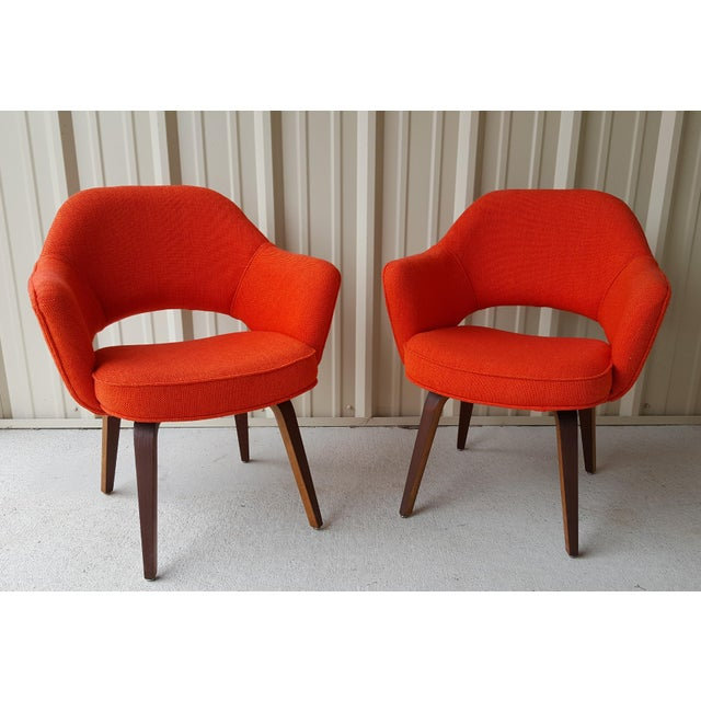 Vintage Saarinen Knoll Exectutive Chairs- a Pair For Sale - Image 13 of 13