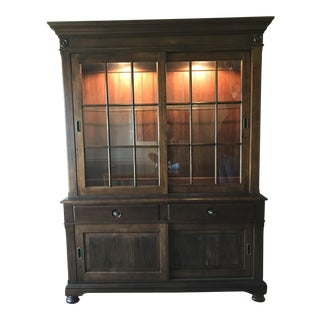 Ethan Allen Martin China Cabinet