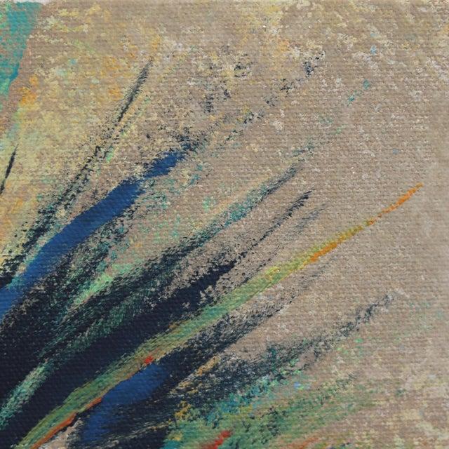 "Realism ""Dancing Light in April Palm"" Original Artwork by Kathleen Keifer For Sale - Image 3 of 8"