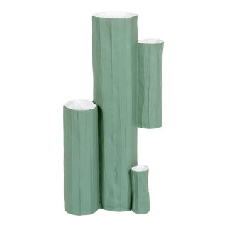 Paper Clay Cactus Vase