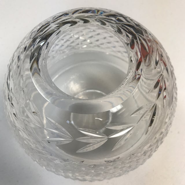 Modern Waterford Crystal Vase For Sale - Image 3 of 7