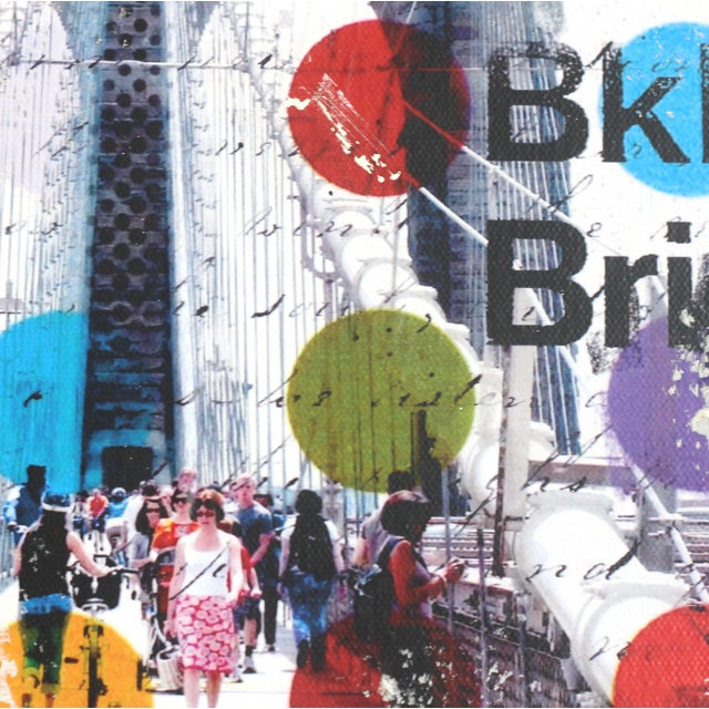 """American """"Follow Me to Brooklyn"""" Original Artwork by Marion Duschletta For Sale - Image 3 of 10"""