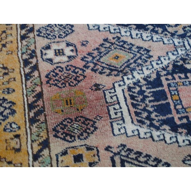 Blue Kurdish Rug For Sale - Image 8 of 10