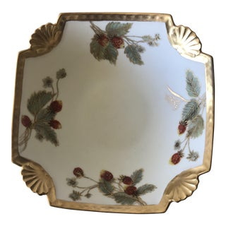 1891 MIM Signed Hand Painted Bowl For Sale