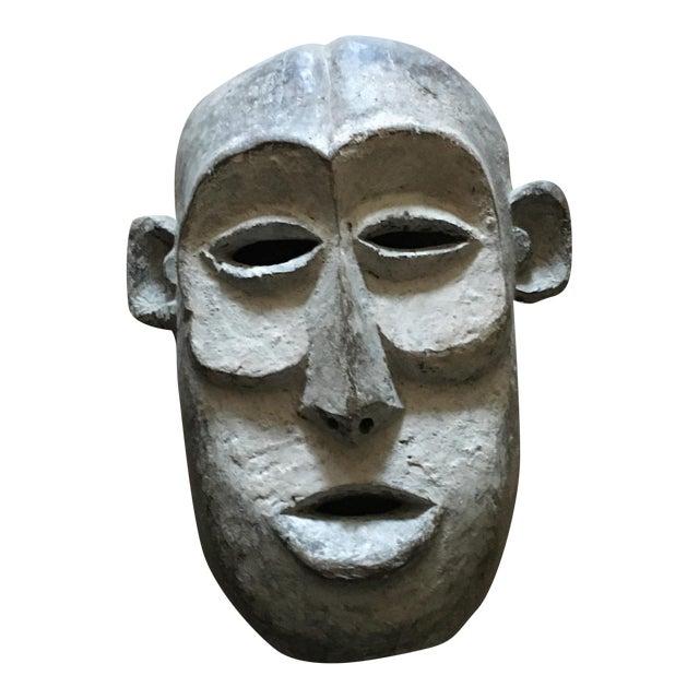 Vintage Tribal Hand Carved African Mask For Sale