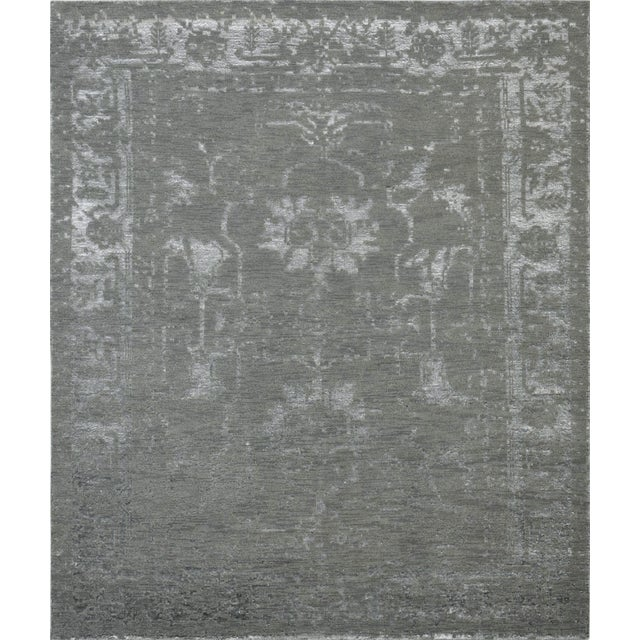 Pasargad Silk & Wool Fusion Rug - 6′ × 9′ - Image 1 of 5