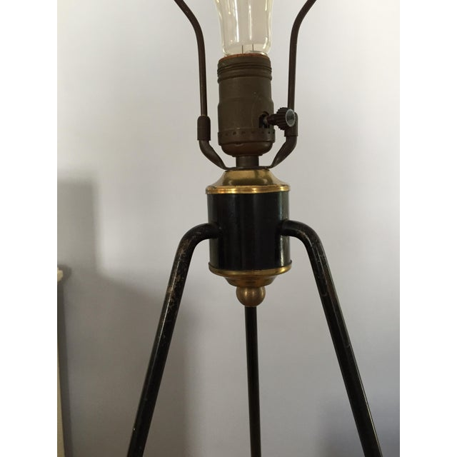 Gerald Thurston for Lightolier Hairpin Tripod Table Lamp - Image 5 of 7