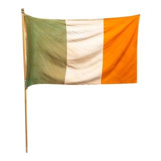Early 20th C. Irish Flag C.1950 For Sale