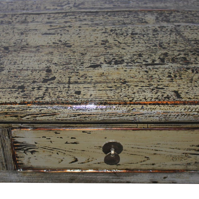 Gray Console Table - Image 4 of 6