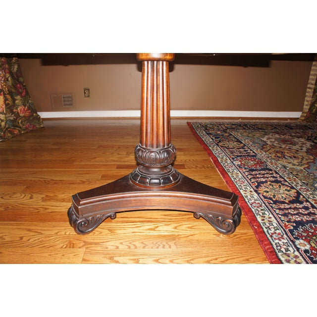 Hickory Chair Mahogany Dining Table - Image 6 of 6
