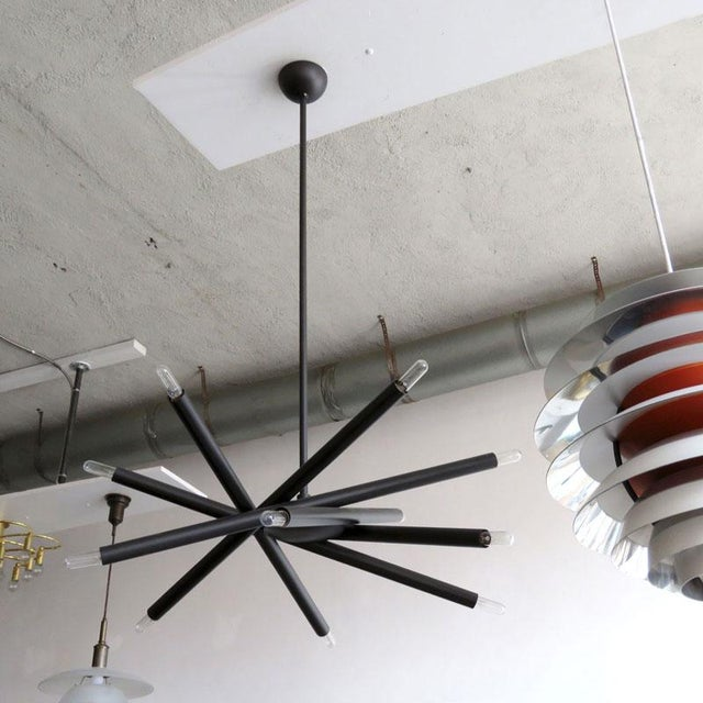 Contemporary Gallery L7 Spiral Orb Chandelier For Sale - Image 3 of 11