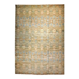 """Contemporary Genuine Hand Knotted Rug - 10'2""""x 14' For Sale"""