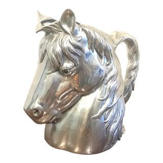 Vintage Arthur Court Horse Head Pitcher For Sale
