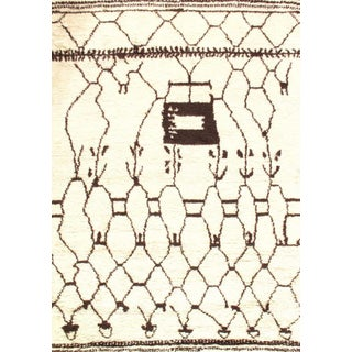 Pasargad Ny Indo Moroccan Design Area Rug - 6′3″ × 8′11″ For Sale