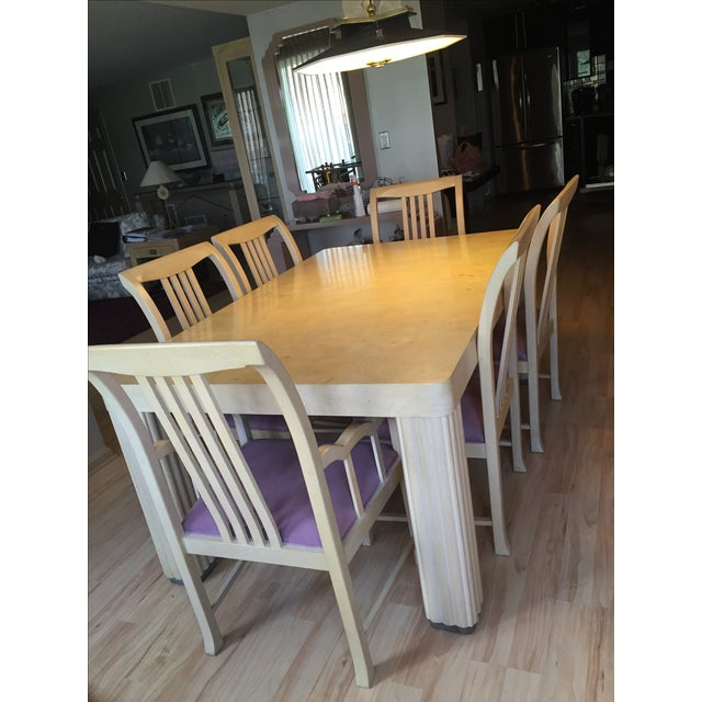 Hickory Furniture Maple Dining Set - Image 2 of 5