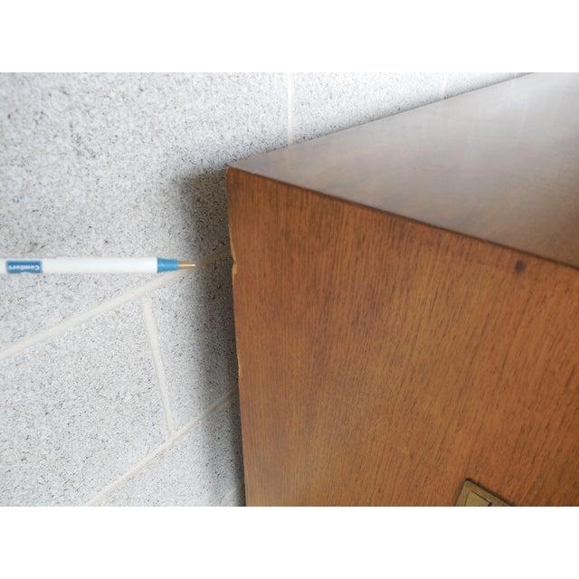 "John Stuart Campaign Style Credenza / Dresser 28.5""H x 76""W - Image 9 of 11"